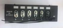 Chaveadora 6 canais